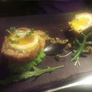 Homemade Pork and Prawn Scotch Egg